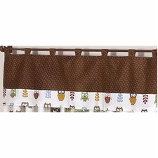 <strong>Sweet Jojo Designs</strong> Night Owl Curtain Valance