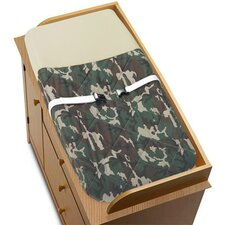 Camo Green Collection Changing Pad Cover
