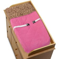 <strong>Sweet Jojo Designs</strong> Cheetah Pink Collection Changing Pad Cover