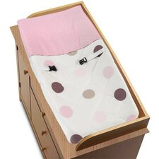 <strong>Sweet Jojo Designs</strong> Mod Dots Pink Collection Changing Pad Cover