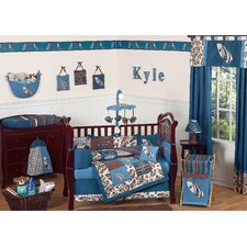 <strong>Sweet Jojo Designs</strong> Surf Blue Crib Bedding Collection