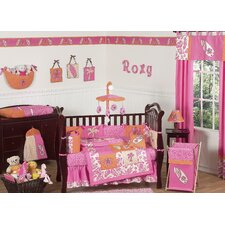Surf Pink Crib Bedding Collection