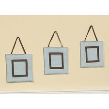 <strong>Sweet Jojo Designs</strong> Hotel Blue and Brown Collection Wall Hangings