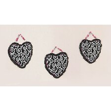 <strong>Sweet Jojo Designs</strong> Madison Collection Wall Hangings (Set of 3)