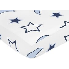 <strong>Sweet Jojo Designs</strong> Starry Night Fitted Crib Sheet