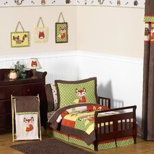 Forest Friends 5 Piece Toddler Bedding Collection