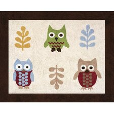 <strong>Sweet Jojo Designs</strong> Night Owl Collection Floor Rug