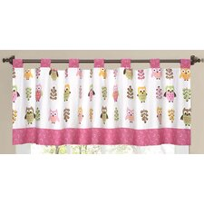"Night Owl 54"" Curtain Valance"