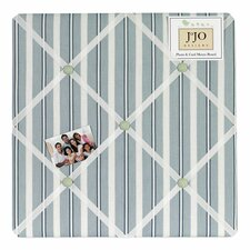 Argyle Green Blue Memo Board