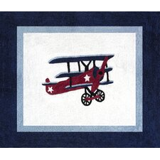 Vintage Aviator Collection Floor Rug