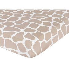 <strong>Sweet Jojo Designs</strong> Giraffe Fitted Crib Sheet