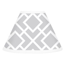 Diamond Gray and White Collection Lamp Shade