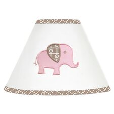 <strong>Sweet Jojo Designs</strong> Elephant Pink Collection Lamp Shade