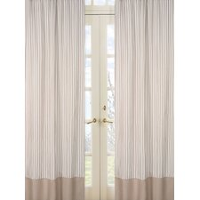 Giraffe Rod Pocket Curtain Panel (Set of 2)