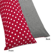 <strong>Sweet Jojo Designs</strong> Little Ladybug Collection Body Pillow Case