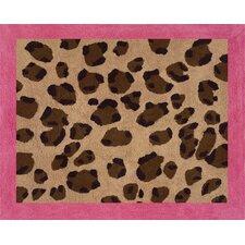 Cheetah Pink Collection Floor Rug