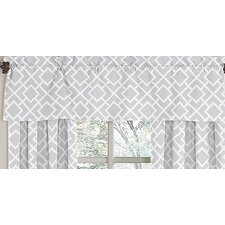 <strong>Sweet Jojo Designs</strong> Diamond Cotton Curtain Valance