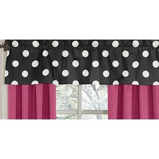 "Hot Dot 54"" Curtain Valance"