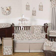 Giraffe 9 Piece Crib Bedding Collection