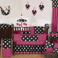 Hot Dot Crib Bedding Collection
