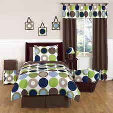 Designer Dot Toddler Bedding Collection 5 Piece Set