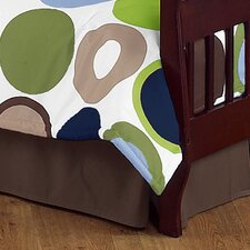 Designer Dot Toddler Bed Skirt