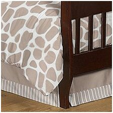 Giraffe Toddler Bed Skirt
