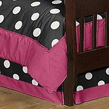 <strong>Sweet Jojo Designs</strong> Hot Dot Toddler Bed Skirt