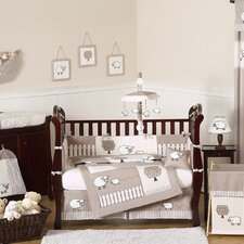 Lamb 9 Piece Crib Bedding Set