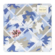 Camo Blue Collection Memo Board