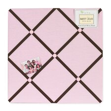 Hotel Pink and Brown Collection Memo Board
