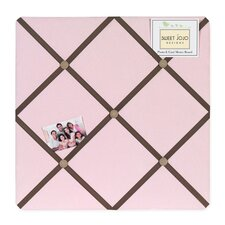 Soho Pink and Brown Collection Memo Board