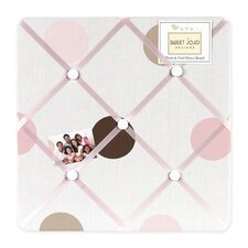 <strong>Sweet Jojo Designs</strong> Mod Dots Pink Collection Memo Board