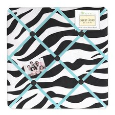 Zebra Turquoise Collection Memo Board