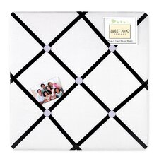 <strong>Sweet Jojo Designs</strong> Princess Black, White and Purple Collection Memo Board