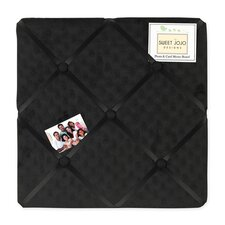 <strong>Sweet Jojo Designs</strong> Minky Dot Black Collection Memo Board
