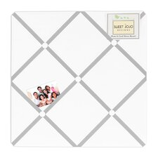 Hotel White and Gray Collection Memo Board