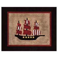 Pirate Treasure Cove Collection Floor Rug
