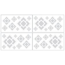 <strong>Sweet Jojo Designs</strong> Diamond Wall Decal (Set of 4)