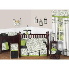 Spirodot Crib Bedding Collection
