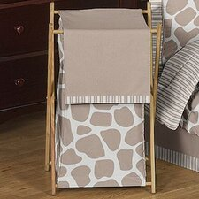 <strong>Sweet Jojo Designs</strong> Giraffe Laundry Hamper
