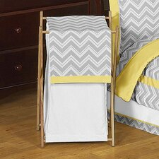 <strong>Sweet Jojo Designs</strong> Zig Zag Laundry Hamper