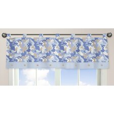 Camo Cotton Curtain Valance