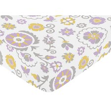 <strong>Sweet Jojo Designs</strong> Suzanna Fitted Crib Sheet