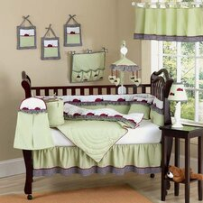 Ladybug Parade 9 Piece Crib Bedding Set