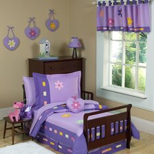 <strong>Sweet Jojo Designs</strong> Daisies Toddler Bedding Collection 5 Piece Set