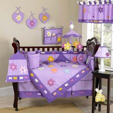 Daisies 9 Piece Crib Bedding Collection