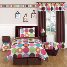 Deco Dot Collection 4pc Twin Bedding Set