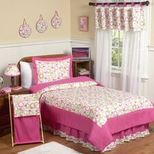Circles Pink Kid Bedding Collection