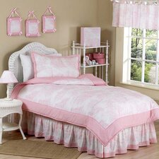 Pink Toile Kid Bedding Collection